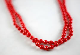 long red necklace images Wrapped in pearls necklace jpg