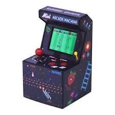 bureau portable mini arcade machine ées 80 bureau rétro 240 jeux 16 bit portable
