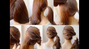 How To Make Hairstyles For Girls by Hairstyles Easy Youtube