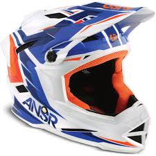 thh motocross helmet answer new ansr faze blue orange mtb bicycle bmx downhill mountain