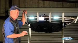 led strip lights marine how to install overhead led dock lights youtube