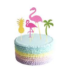 cake toppers birthday flamingo cake toppers birthday cake summer party decoration
