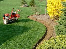 Flower Bed Edger Walk Behind Edger And Trencer Uk Ireland Eire