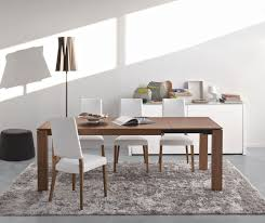 omnia wood modern extendable dining table calligaris