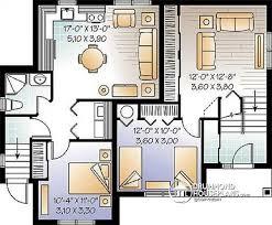 multi family plan w3323b detail from drummondhouseplans com