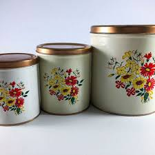 tin kitchen canisters shop metal kitchen canisters on wanelo