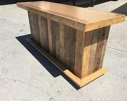 Mobile Reception Desk The Provincial 8 Foot Mobile Corrugated Metal Bar Sales