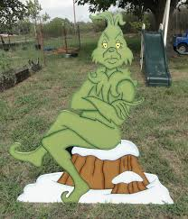 Christmas Yard Decorations Grinch by 382 Best Grinch Christmas Images On Pinterest Christmas Parties