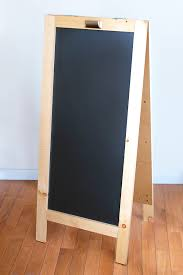 Free Toy Box Plans Chalkboard by Diy Chalkboard The Home Depot Diy Chalkboard Chalkboard Easel