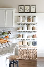 kitchen sheved diy kitchen jar shelves tutorial ella claire