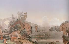 historic wallpaper art museums rooms with a view landscape wallpaper at the cooper