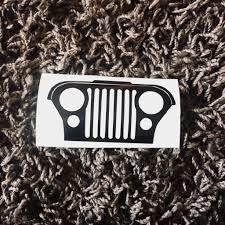 preppy jeep stickers jeep decal jeep sticker jeep suv car decal mug decal by