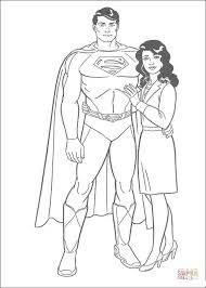 superman girlfriend free coloring pages space