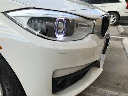 custom white bmw custom bmw led halo projector headlight upgrades hid retrofit kit