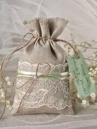 burlap wedding favor bags rustic burlap wedding favor bag by 4lovepolkadots