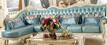 Most Popular Sofa Styles The Classic American Style Solid Frame Leather Corner Sofa Most