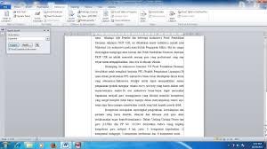membuat daftar isi table of contents di word 2007 cara membuat daftar isi otomatis atau table of content pada ms word