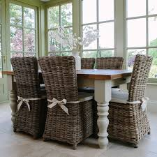 Best Rustic Dining Furniture Packages Images On Pinterest - Dining table with rattan chairs