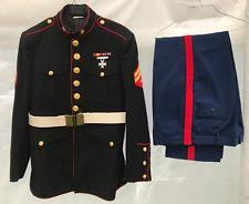 usmc dress blues militaria ebay