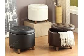furniture round storage ottoman wayfair storage storage stool