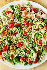 Best Salad Recipes Broccoli Bacon Ranch Pasta Salad