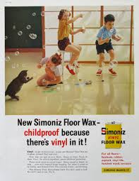 Johnson S Jubilee Kitchen Wax by 1959 Simoniz Ad Vinyl Floor Wax Kids Blowing Bubbles Cat Vintage