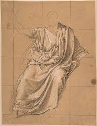 Drapery Art Of Drapery Drawing By Jean Baptiste Joseph Wicar