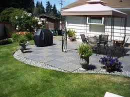 Cement Designs Patio Backyard Cement Ideas Photo 4 Design Your Home