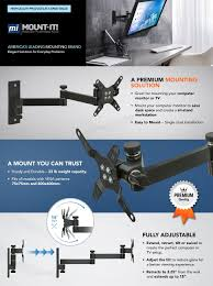 Ergotron 200 Series Wall Mount Arm Wall Mount For Computer Monitor Git Designs