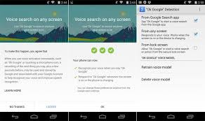 voice search app for android search app for android update enables ok voice