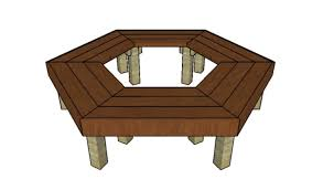 wrap around tree bench plans howtospecialist how to build