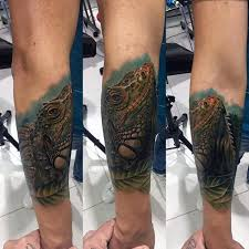 50 iguana tattoo designs for males u2013 reptile ink concepts alltopex