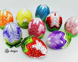 easter decorations on sale ombre easter egg decoration quilted ornaments ornament egg