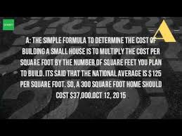 How Much To Build A Cottage by How Much Would It Cost To Build A Small Cottage Youtube