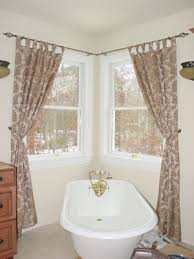 Curtains Corner Windows Ideas The For Hanging Curtains In Your Rental Master