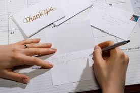How To Write A Resume For First Job Simple Thank You Note To Send After A Job Interview