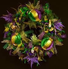mardi gras boas mardi gras wreath door wreath boa feather wreath item 625