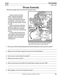 extreme weather 5th grade reading reading comprehension