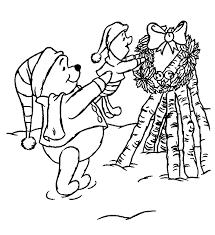 christmas ornament coloring pages free coloring pages winnie