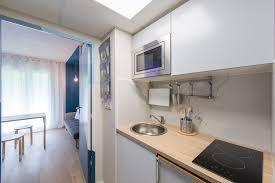 le chauffante cuisine cuisine studio 17m2 plaque chauffante évier rond inox ikea