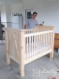 How To Clean A Crib Mattress by Diy Crib U2013 Diystinctly Made