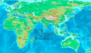 07 World Map by World History Maps By Thomas Lessman