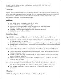 Resume For Purchase Assistant Procurement Resume Sle 28 Images Purchase Manager Resume Sles