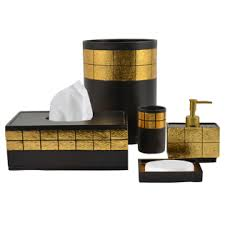 Black And Gold Bathroom Amazing 50 Bathroom Accessories Gold Design Inspiration Of Best