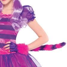 Cheshire Cat Costume Girls Teen Cheshire Cat Alice In Wonderland Book Day Week Fancy