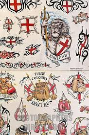 english flag tattoo designs tattoos book