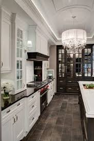 Dark Wood Floor Kitchen by 30 Spectacular White Kitchens With Dark Wood Floors Page 5 Of 30