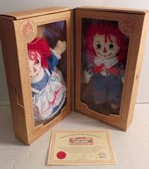 original box raggedy ann u0026 andy dolls certificate of authenticity