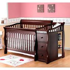 black crib with changing table baby crib with changing table attached best black baby cribs with