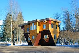 weird places the upside down house klm blog